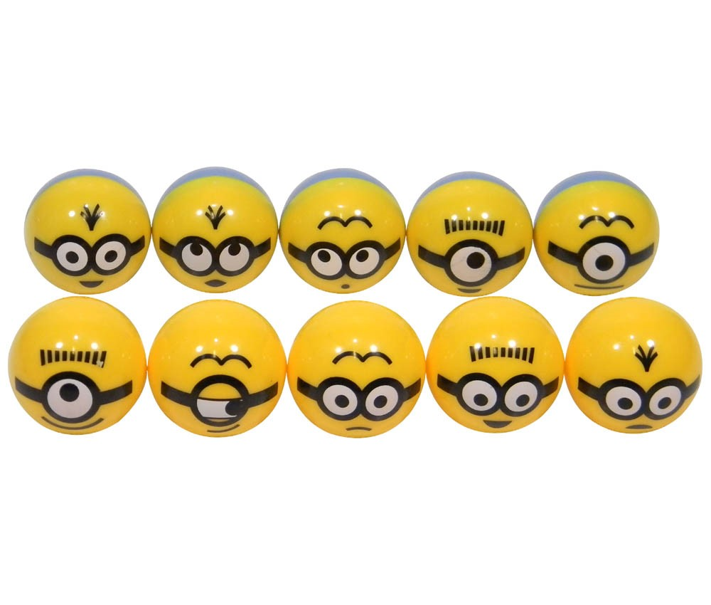 Minions Manmaru(Round) Self-Righting Doll