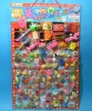 30yen value x 100pcs+6 Happy Raffle Game - Draw a Lottery Number and See ! Erasers (30yen value x 100 Items)