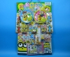 50yen value x 80pcs+4 DX Minions on Cardbord. Happy Raffle Game(Sample Picture)