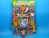 50yen value x 80pcs+4 Uchu Sentai Kyuranger on Cardbord. Happy Raffle Game (Sample Picture)
