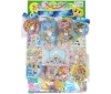 50yen value x 80pcs+4  Star DX All Princess on Cardbord Happy Raffle Game  (Sample Picture)