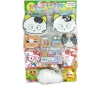 50yen value x 80pcs+4 Kawaii Cat Goods on Cardbord Happy Raffle Game (Sample Picture)