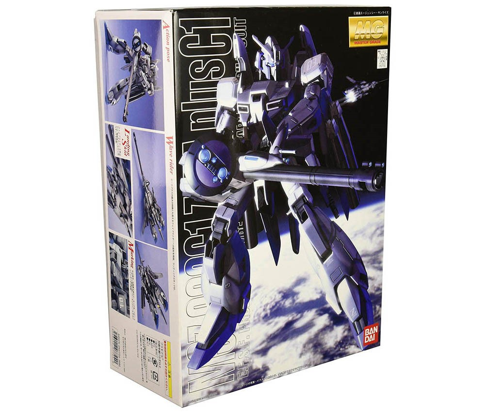 [Bandai] MG 1/100 MSZ-006C1 Zeta Plus C1 (Model Kits)