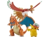 [Bandai] Pokemon Plamo Collection - Ho-Oh & Charizard & Ash's Pikachu Set
