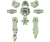 [Bandai] 30MM 1/144 Special Operations Option Armor (For Rabiot/Light Green)
