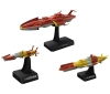 [Bandai](Space Battle Ship Yamato 2199) 1/1000 United Nations Space Navy Starfleet Set 1