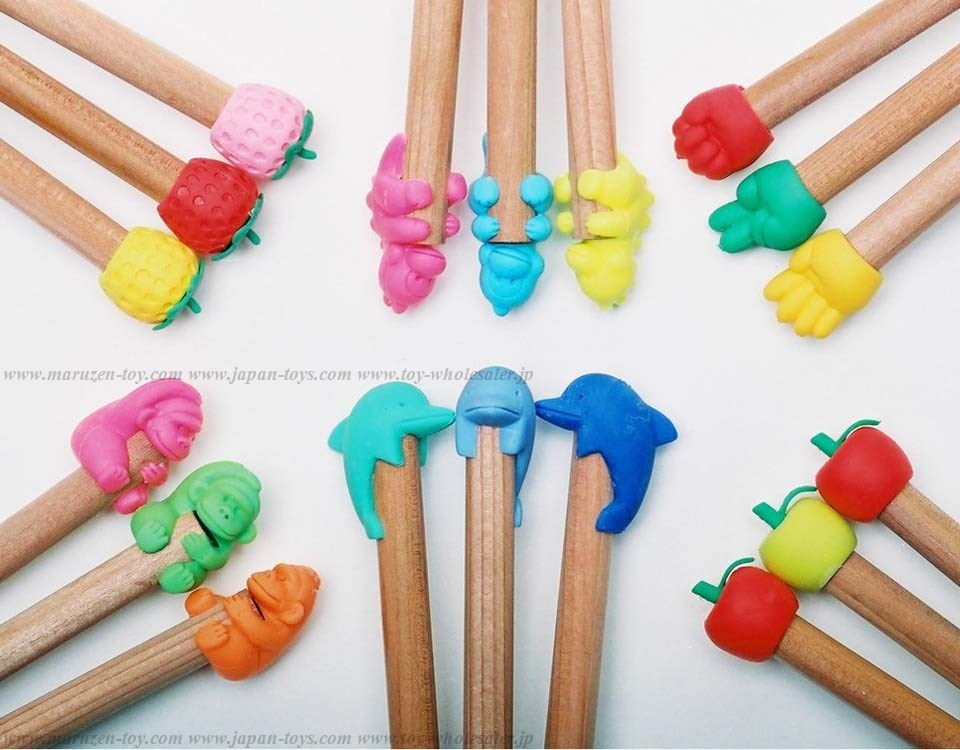 Tip Erasers -Made in Japan-