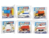 (IWAKO)-made in JAPAN-Block Erasers (Vehicle)