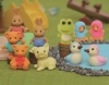 (IWAKO)-made in JAPAN-Animal Erasers(Colors/Designes/Assortments may changed without Notice)