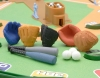 (IWAKO)-made in JAPAN-Baseball Erasers(Colors/Designes/Assortments may changed without Notice)
