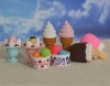 (IWAKO)-made in JAPAN-Ice Cream Erasers