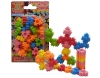 Hexagon Puzzle Erasers Set in blister -Iwako Made in Japan- (Colors/Designes/Assortments may changed without Notice)