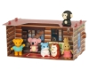 Erasers TOY -Iwako Made in Japan- Craft House Log House(ER-KUR 006)(Colors/Designes/Assortments may changed without Notice)