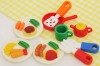 (IWAKO)(ER-941206)-made in JAPAN-Kitchen Set Erasers(Display Box can be changed)