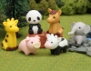 (IWAKO)(ER-DOU002)-made in JAPAN-Animal Zoo Erasers(Display Box can be changed)