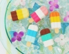 (IWAKO)-made in JAPAN-Ice Cream Bar Erasers(Colors/Designes/Assortments may changed without Notice)