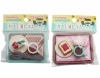 (IWAKO)(ER-OMO 013)-made in JAPAN-100yen Stationery Series Cafe Erasers Set(Colors/Designes/Assortments may changed without Notice)
