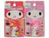 (IWAKO)-made in JAPAN-My Melody Omoshiro Erasers Set(Colors/Designes/Assortments may changed without Notice)