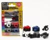 (IWAKO)-made in JAPAN-Blister Pack Erasers Camera set Erasers(Colors/Designes/Assortments may changed without Notice)