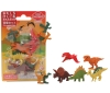 (IWAKO)-made in JAPAN-Blister Pack Erasers Dinosaur Set(Colors/Designes/Assortments may changed without Notice)
