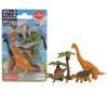 (IWAKO)-made in JAPAN-Blister Pack Erasers Dinosaur Set 2 (Colors/Designes/Assortments may changed without Notice)