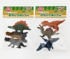 (IWAKO)-made in JAPAN-Omoshiro Erasers Dinosaur (Colors/Designes/Assortments may changed without Notice)