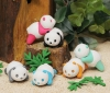 (IWAKO)-made in JAPAN- Erasers Baby Panda(Display Box can be changed)