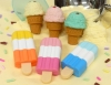 (IWAKO)(ER-ICE003)-made in JAPAN-Ice Cream Cream Shop Erasers(Display Box can be changed)