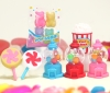 (IWAKO)(ER-COL 001)-made in JAPAN- Colorful Sweets Erasers(Display Box can be changed)