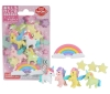 (IWAKO)(ER-BRI067)-made in JAPAN-Blister Pack Erasers Unicorn & Pegasus Erasers(Colors/Designes/Assortments may changed without Notice)