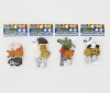 (IWAKO)(ER-981165)-made in JAPAN-Omoshiro Erasers Animal (Colors/Designes/Assortments may changed without Notice)