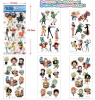 One Piece 3D Stickers (1sheet) (6 models to collect)