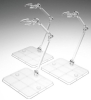 Display Stand Set Stage of Soul ACT3 Action Support Clear Type Bandai