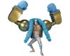 Bandai Figuarts Zero : ONE PIECE Franky -One Piece 20th Anniversary Ver.-