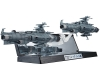 [Bandai] Kikan Taizen 1/2000 : Earth Federation The main force Battleship Dreadnought-class 2boats set