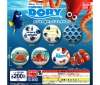 [Bandai JPY200 Capsule] Finding Dory Capsule Tin Badge Collection