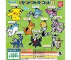 [Bandai JPY300 Capsule] Pokemon Pokemon Rubber Mascot 11
