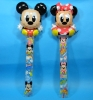 Inflatable Mickey & Minnie Stick Balloons