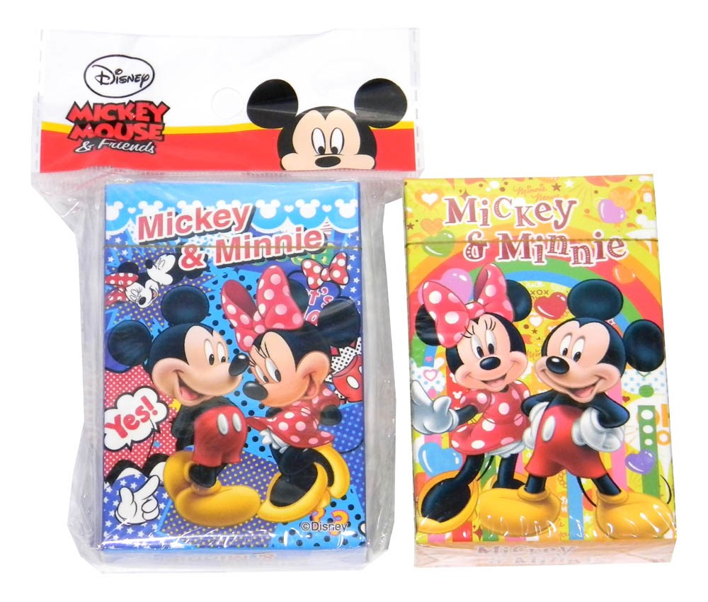 Mickey & Minnie Cards
