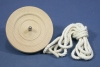 70mm Plain Wood Top K-5 with string (metal core)