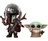 [HOT TOYS] Cosbaby : The Mandalorian(size S) Mandalorian & The Child (Set of 2)