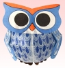 Owl Paper Balloons (size 2) (2pcs set) with a plastic bag