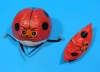 Ladybird Paper Balloons (size 1)(Price is for single ballon)
