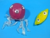 Assorted 3 Color Octopus Paper Balloon (size 1) - Smaller One in the picture(Price is for single ballon)