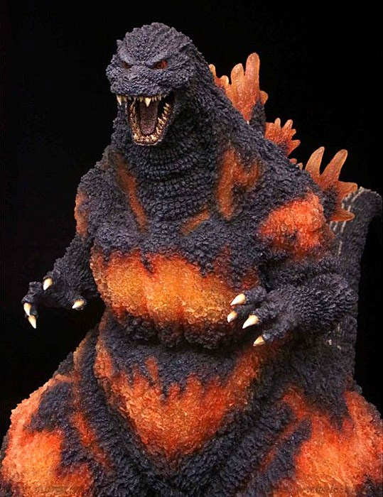 [X-Plus] Gigantic Series Godzilla 1995 (PVC Completed Figure: Some Parts Assembly Required)