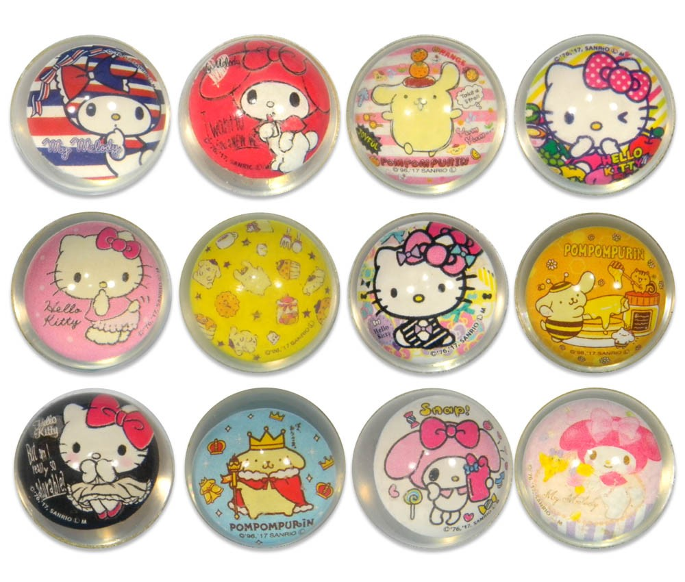 Sanrio Characters Superball(27mm Diameter)
