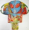 Vintage kite from decads ago, looking like Ultraman, <br>(Japanese nostalgic hero character)