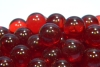 15mm Glass Marbles - Red