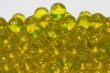12.5mm Clear Colored Marbles - Yellow