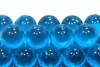 17mm Clear Colored Marbles - Light Blue